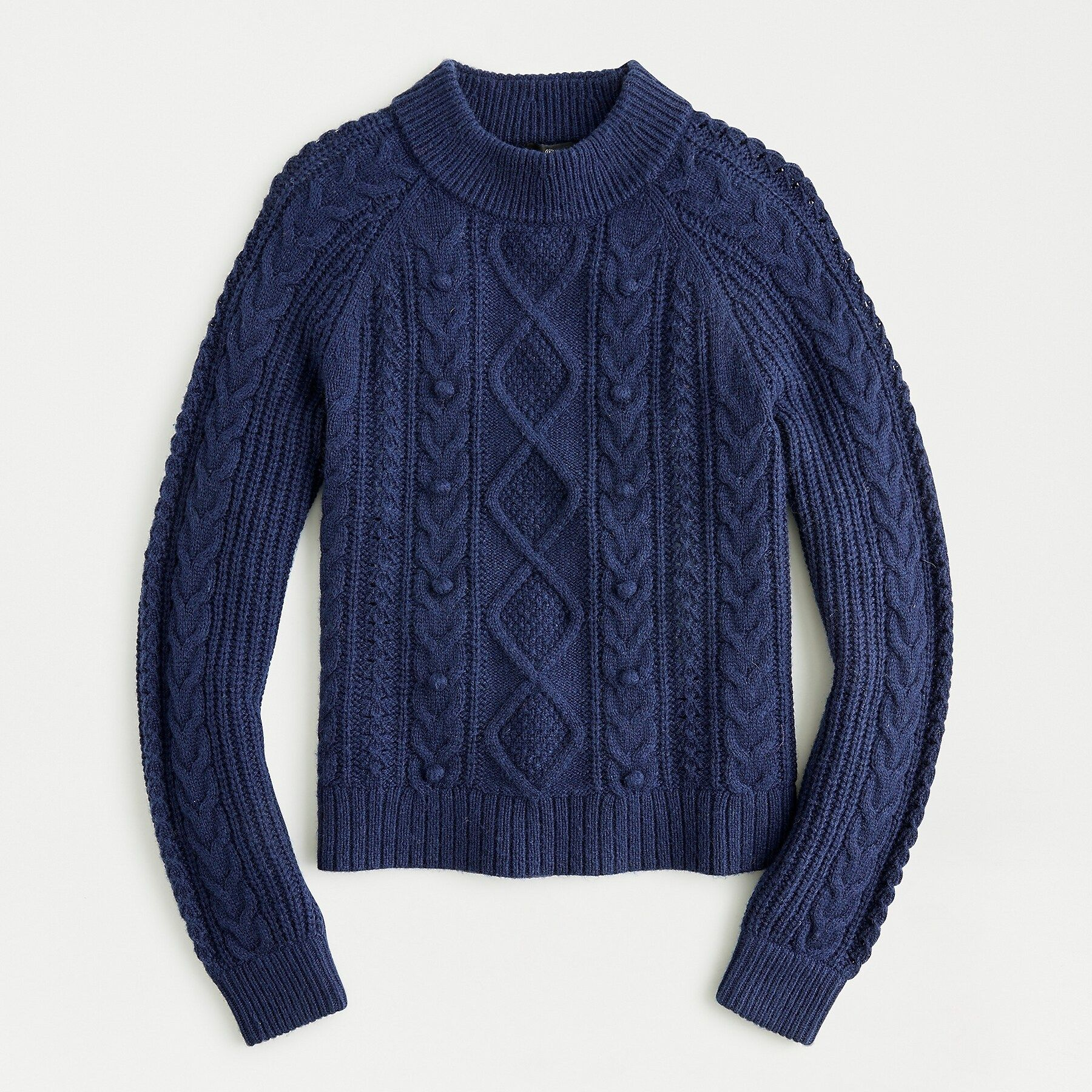 J.Crew: Pom pom Cable knit Sweater | Cable knit sweaters