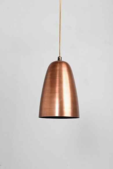 4040 Locust Copper Pendant Urban Outfitters Lamp