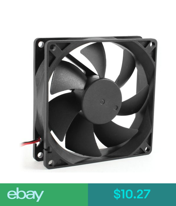 Fans Heat Sinks Cooling 5x 92mm X 25mm Dc 12v 2pin 65 01cfm