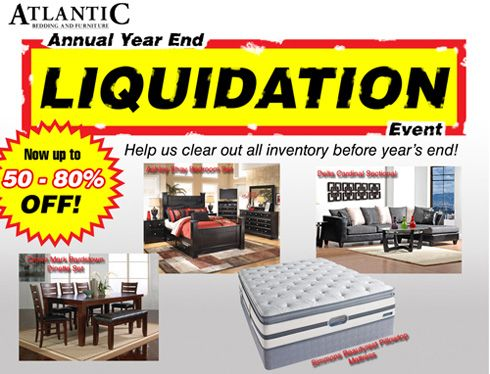 Year end inventory liquidation 50-80% off everything ...