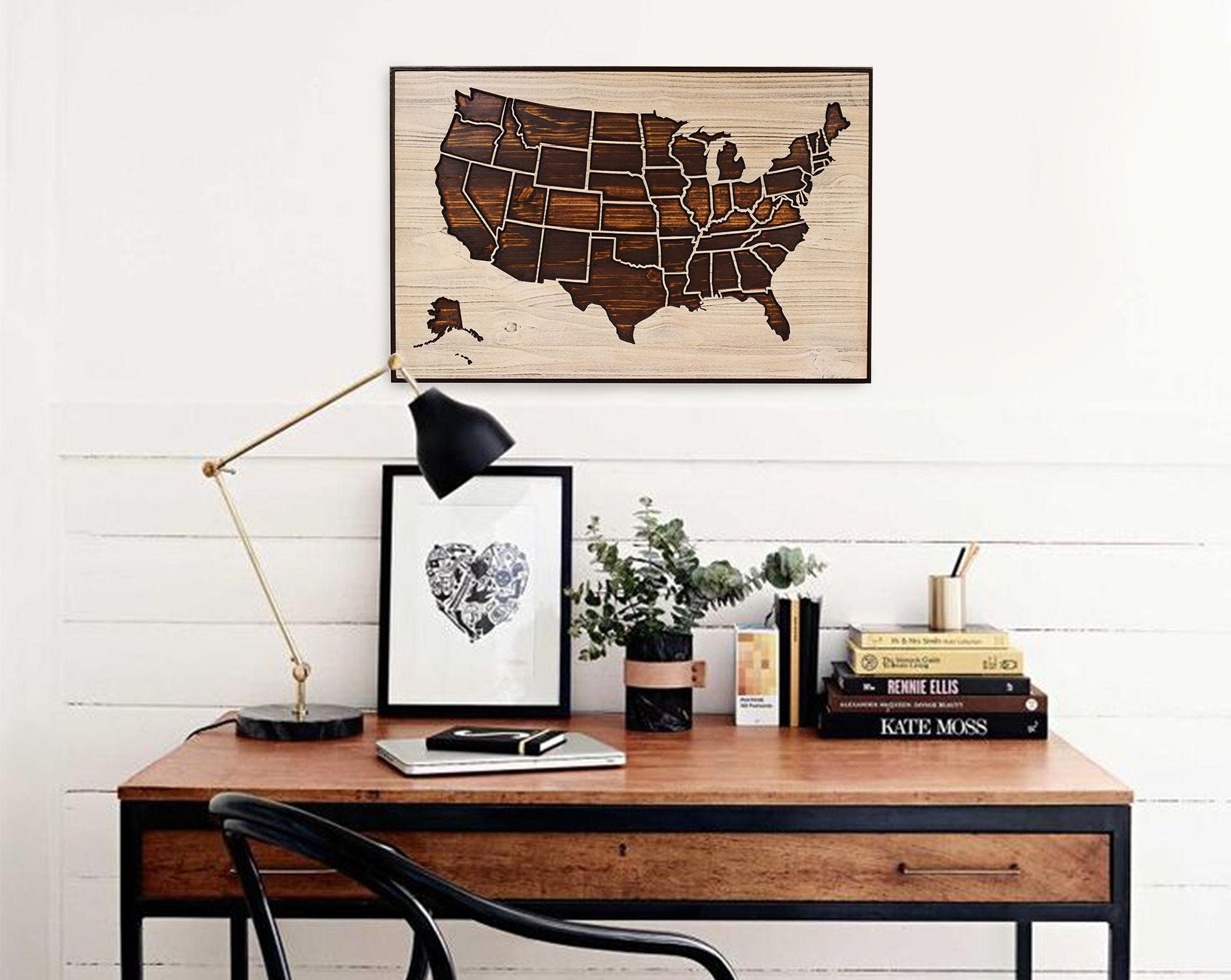 Superieur Howdy Owl: United States Map, Great Living Room And Office Decor!