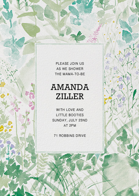Kesanto By Marimekko For Paperless Post. Design Custom Baby Shower  Invitations With Easy To