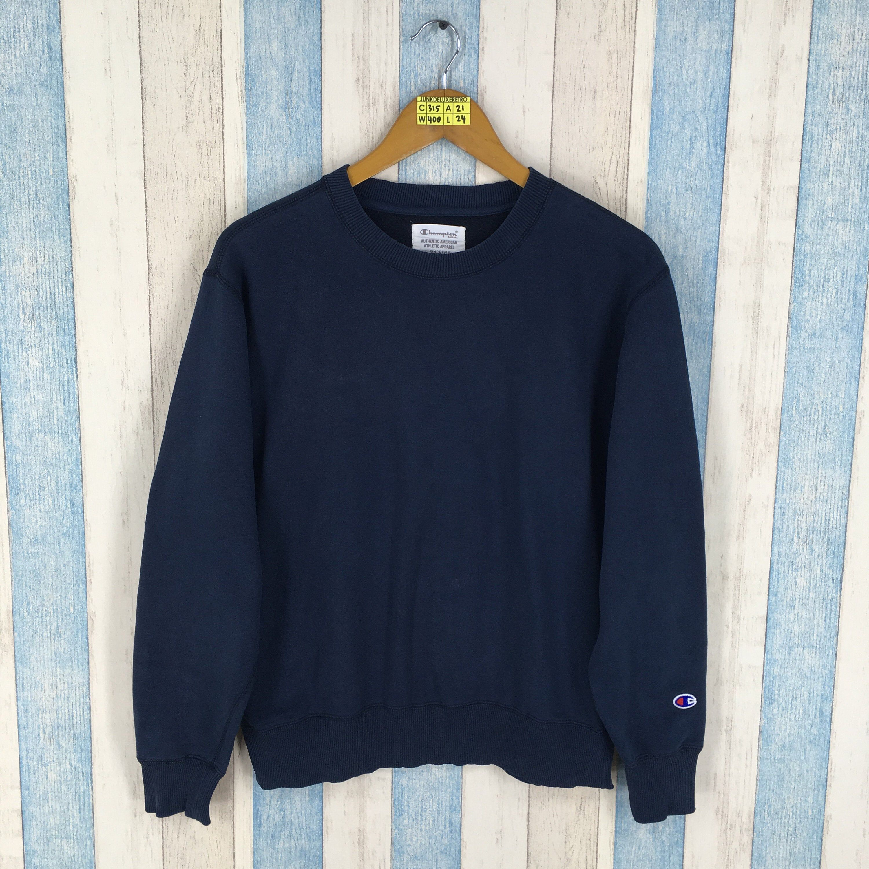 Excited To Share The Latest Addition To My Etsy Shop Champion Sweatshirt Black Medium Vintage 90s Cha Champion Sportswear Champion Sweatshirt Stylish Jackets [ 3000 x 3000 Pixel ]