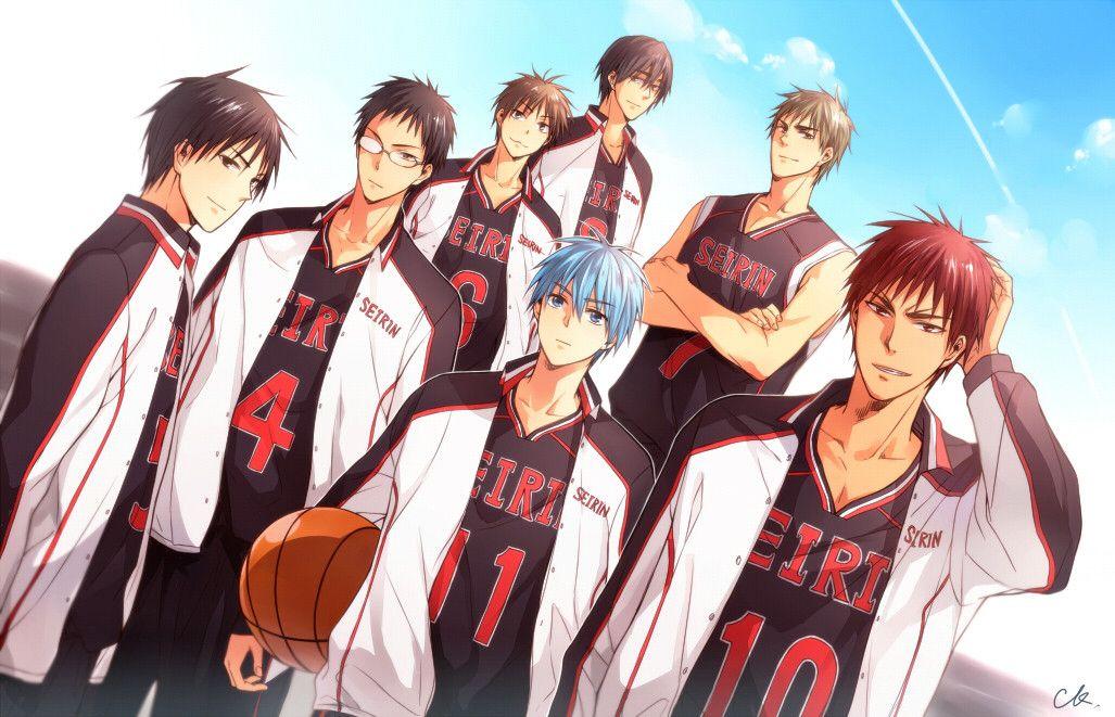 Kuroko No Basket Seirin team Kuroko, Kuroko's