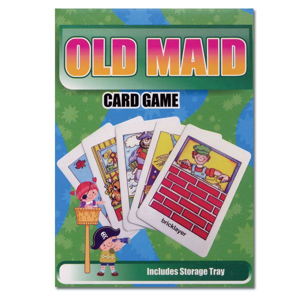Old Maid Classic Flash Card Matching Game Classic Card Games Card Games Flashcards