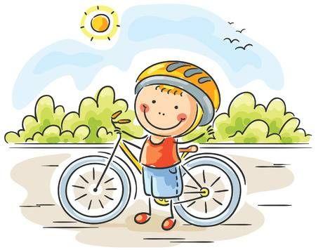 Compra imágenes y fotos   Niño pequeño y su bicicleta Image 31728487. 53b9f2150fc