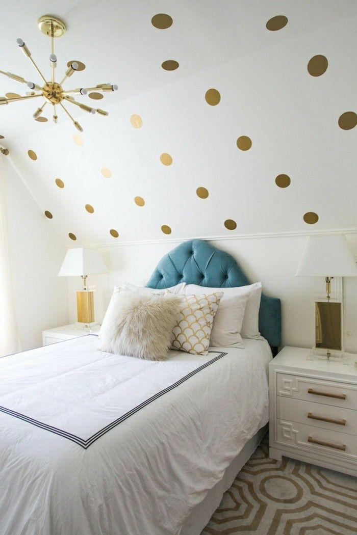 Schlafzimmer Dachschräge   33 Ideen Für Den Schlafbereich Auf Dem   Schlafzimmer  Dachschräge