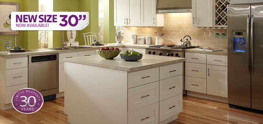 Cabinets To Go Kitchen Cabinets Malibu White 6906