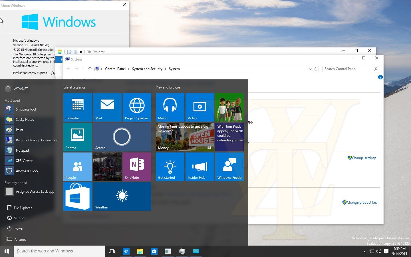 Windows 10 Build 10123 Screenshots Unveils New Improvements On