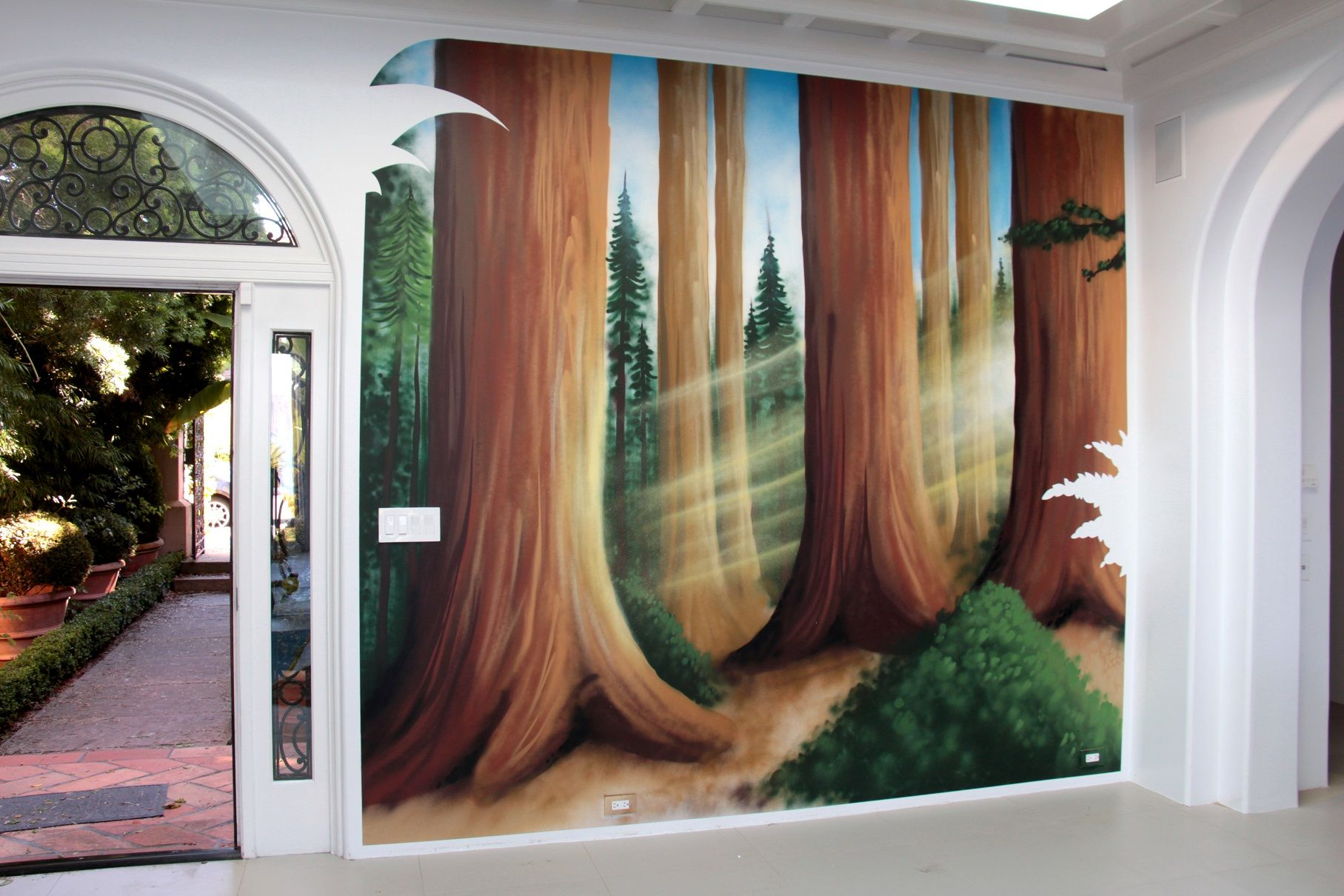 ... Wall Paintings · Redwood Forest Paintings Google Search · Murals ...