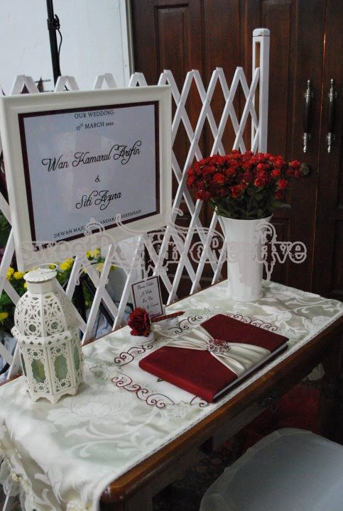 Guest Book Table Decorations
