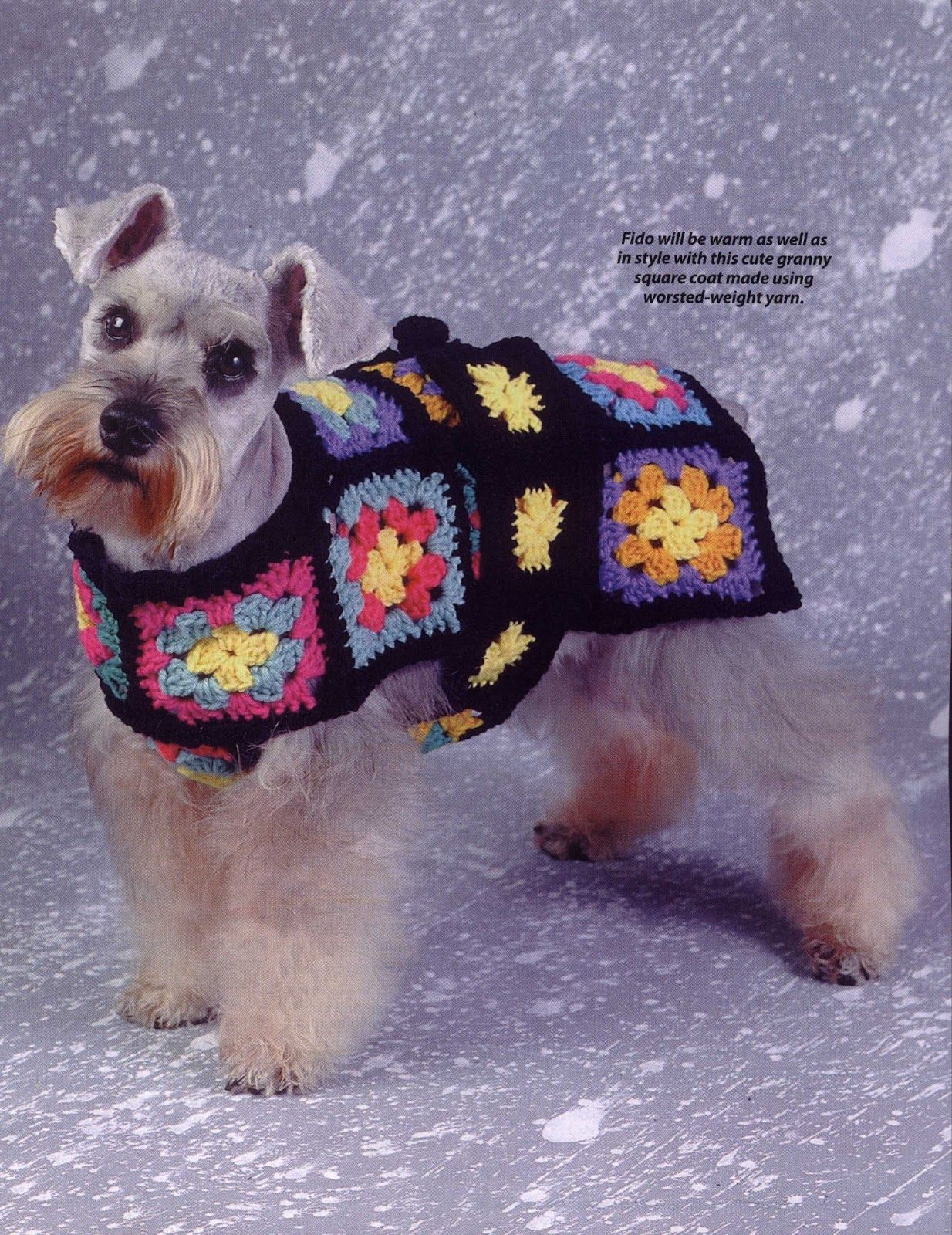 Pattern granny crochet with a twist pinterest patterns crochet granny squares pattern dog coat bankloansurffo Gallery