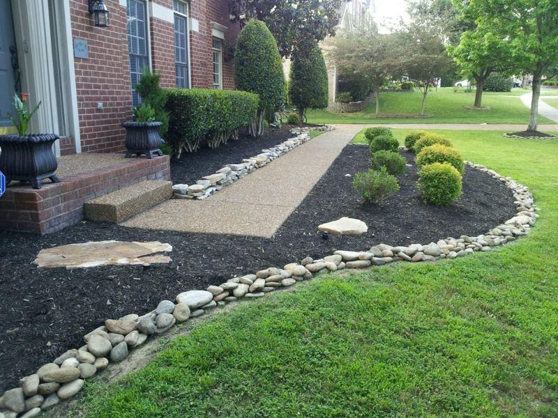 Gartengestaltung mit Steinen – praktische Tipps und 23 tolle Ideen ...