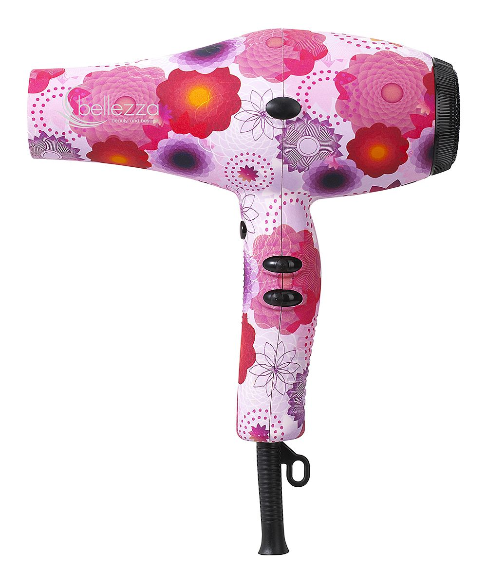 764252e7568d22 Pink Floral Premium Ionic Ceramic Blow-Dryer. I just got this for Christmas!!!  :) | bathroom stuff | Pinterest | Hair, Pink and Hair beauty