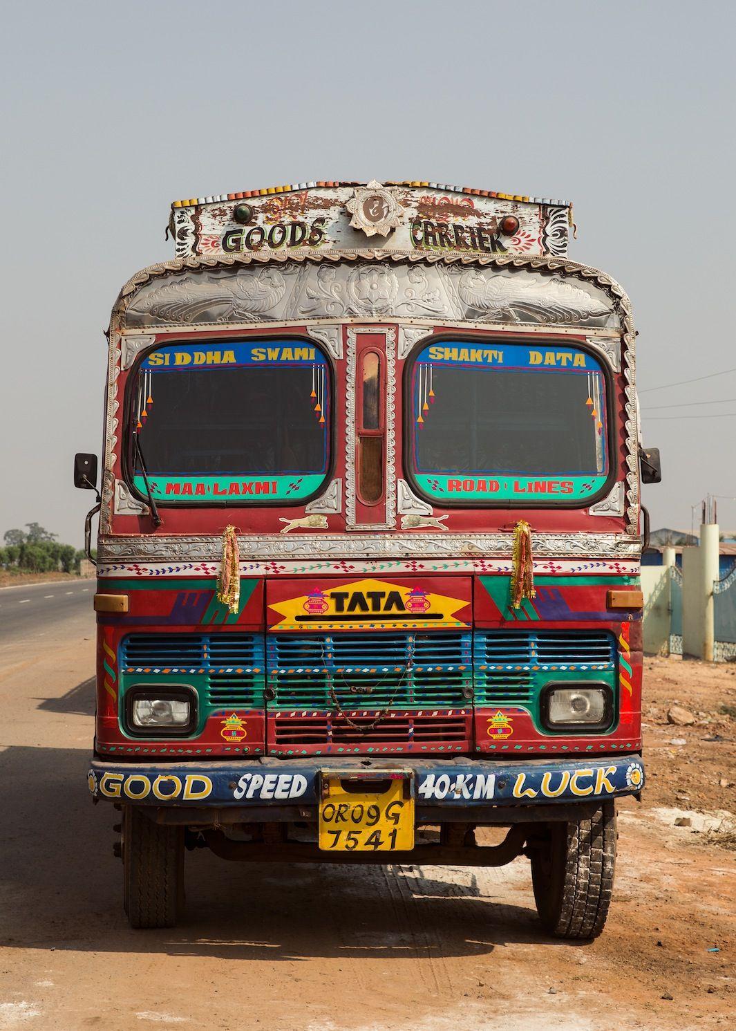 Inside India S Amazing Customized Trucks With Images Truck Art