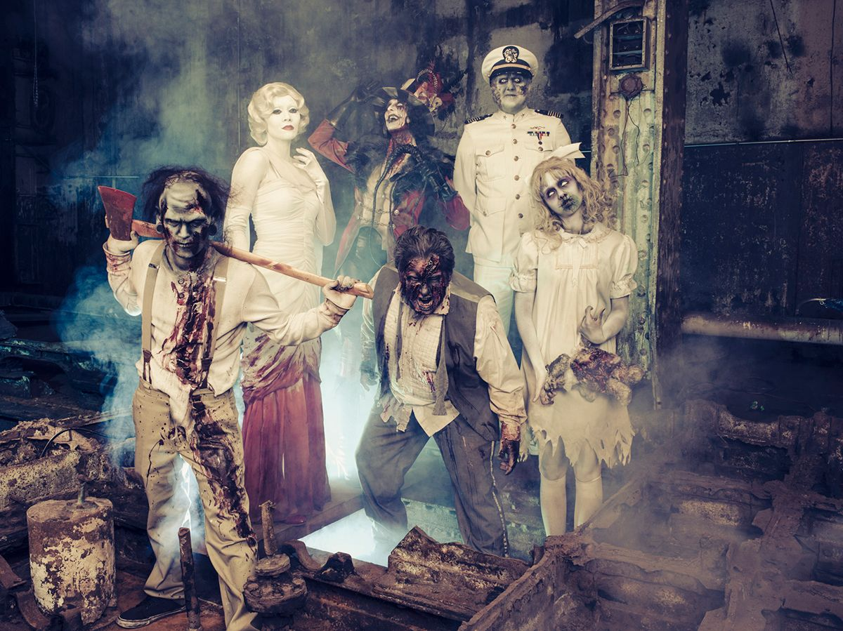 the queen mary's dark harbor returns for 17 terrifying nights with a