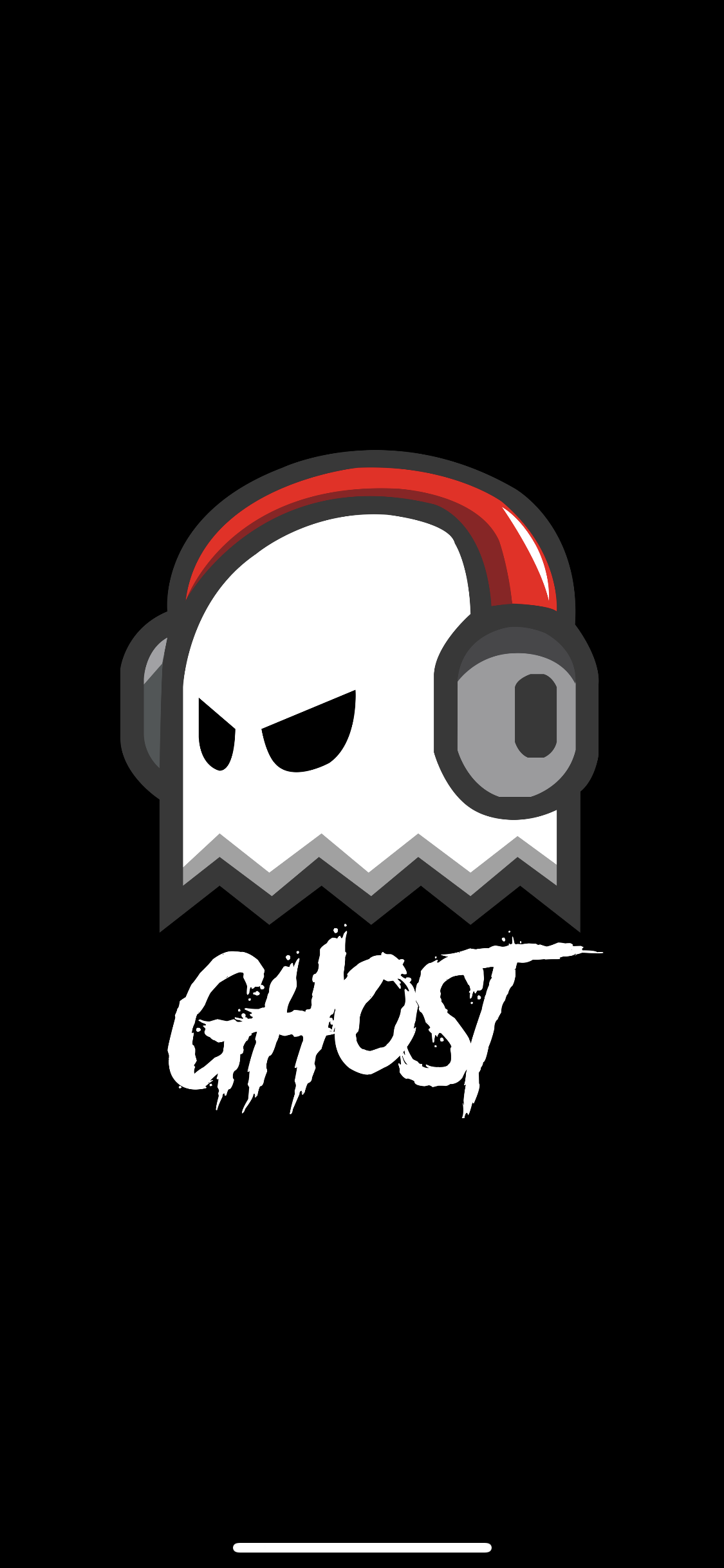 Ghost Gaming Cyberpunk Character Logo Design Ghost Games