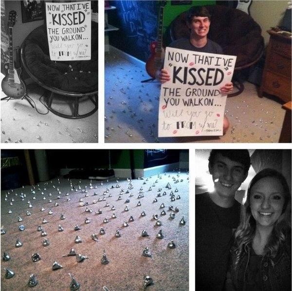 35 creative ways to ask a guy to sadies or prom prom kiss and kiss the ground to ask someone to prom ccuart Gallery