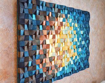 Wood Wall Art The Universe Reclaimed Wood Art 3 D Wall Art Decor Wood Mosaic Wood Sculpture Abs Wood Wall Art Reclaimed Wood Wall Art Reclaimed Wood Art