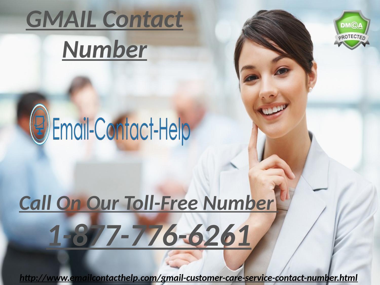 Gmail Customer Care Call at 18777766261 and Get