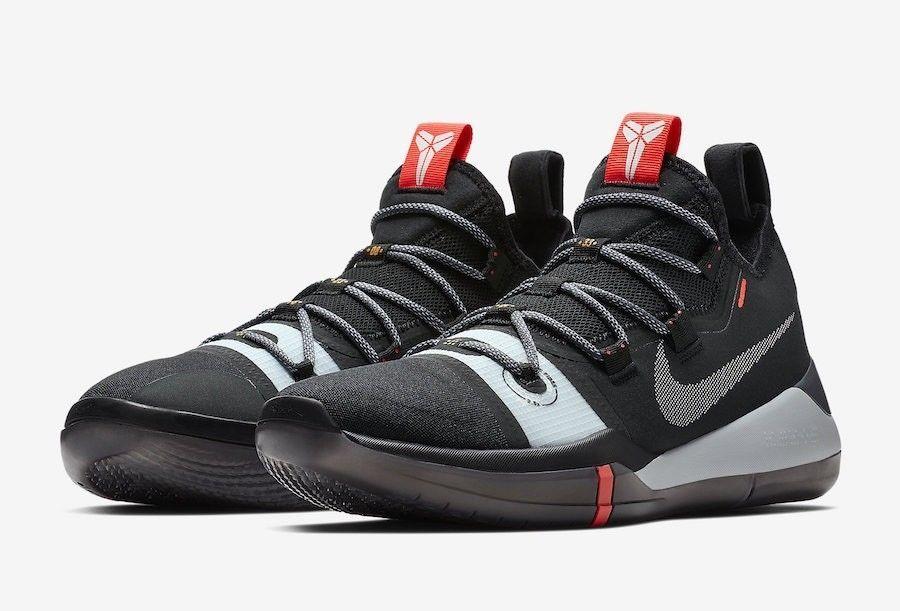 Nike Kobe AD Black Multi-Color Mens