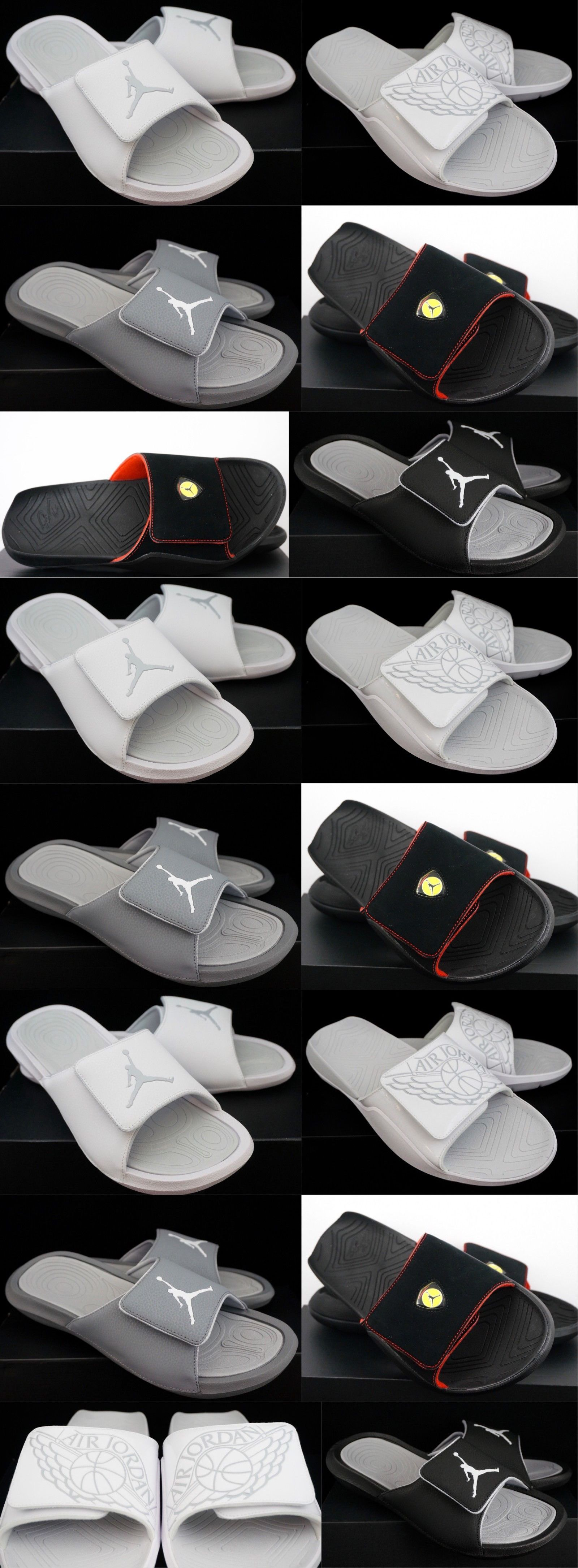 875cfda84ccefb Sandals 11504  Nike Air Jordan Hydro Slides Mens Sandals -  BUY IT NOW  ONLY   35.97 on  eBay  sandals  jordan  hydro  slides