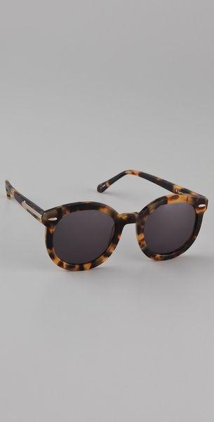 2001d9b33c Super Duper Strength Sunglasses Crazy Tort - Karen Walker