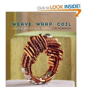Awesome book full of eyepopping jewelry wire projects and wirework