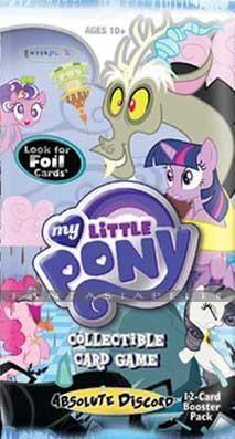 Fantasiapelit - verkkokauppa - keräilykorttipeli - My Little Pony CCG Absolute Discord Booster