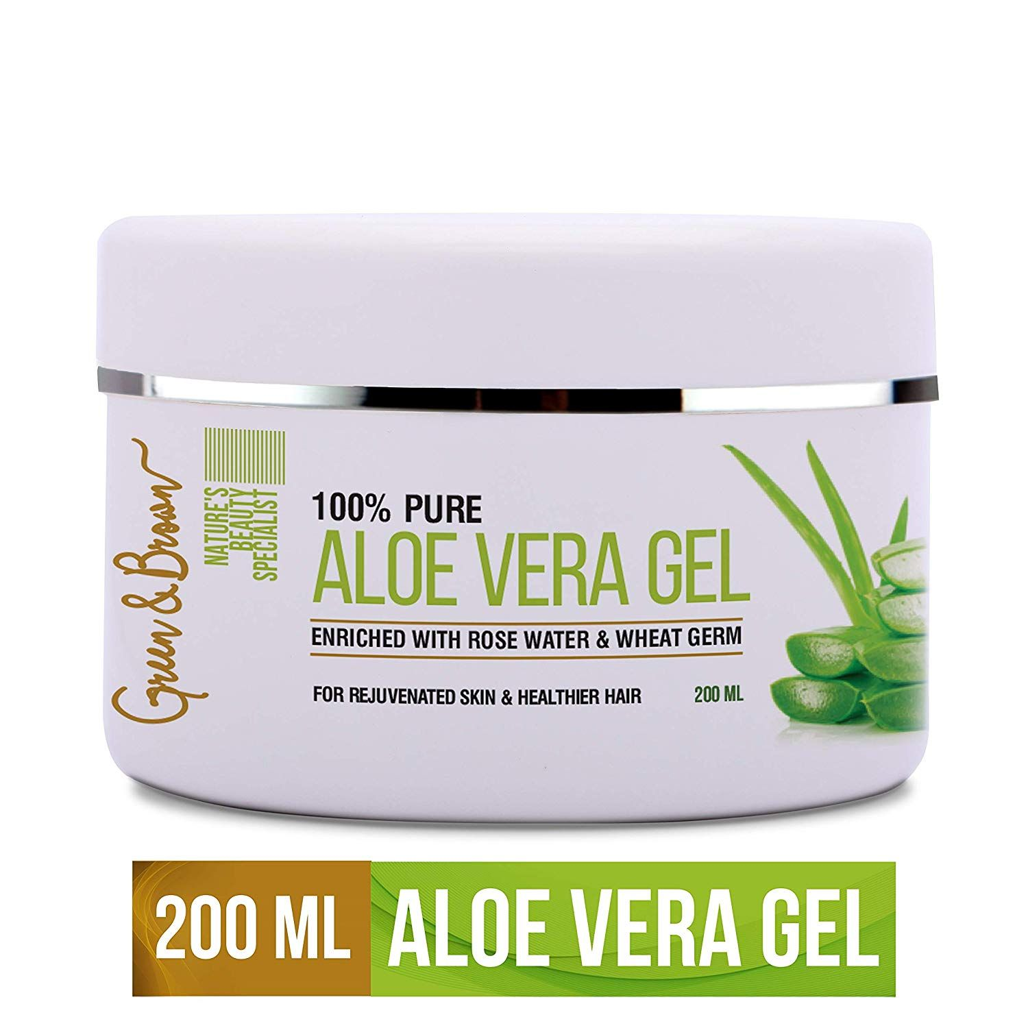 Indulge Yourself With Green Browns 100 Percent Pure Aloe Vera
