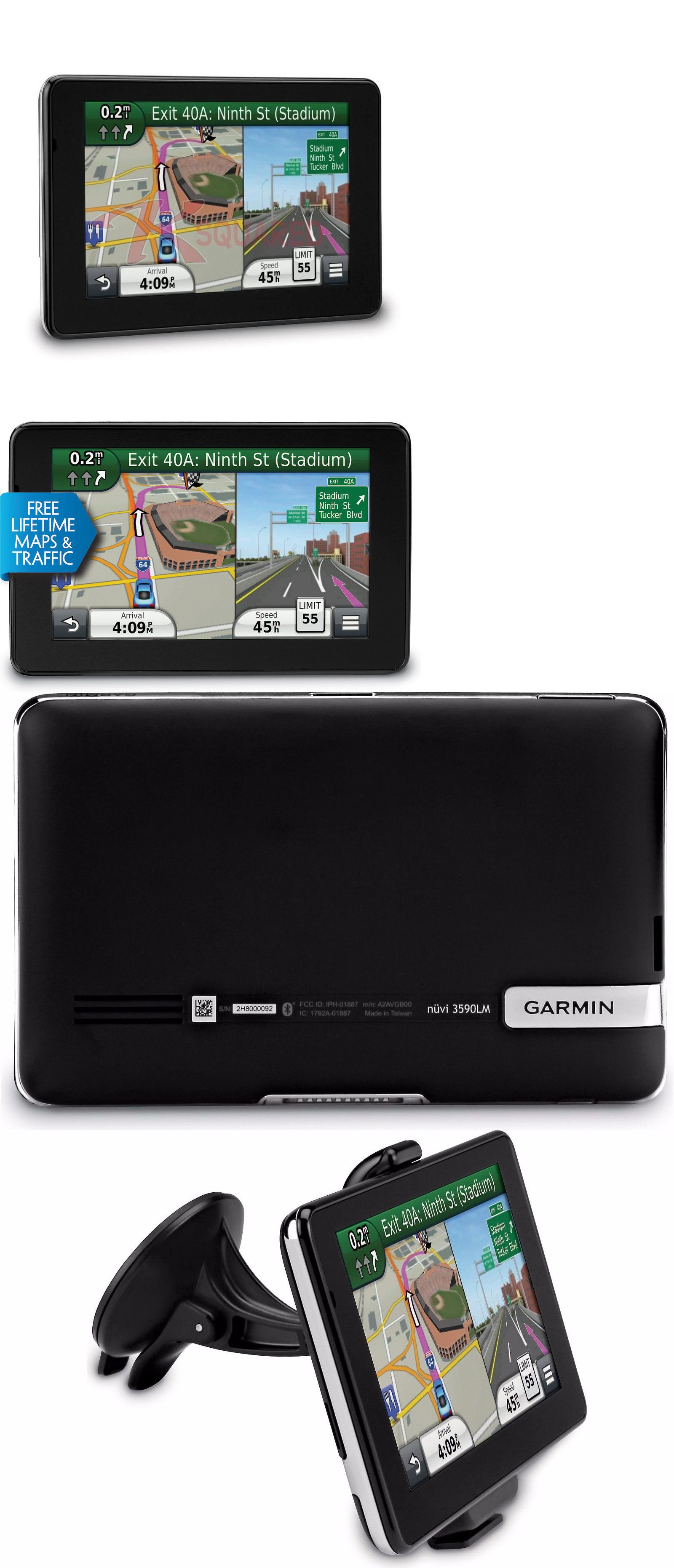 GPS Units Garmin Nuvi 3590Lmt Automotive Gps Receiver 5 Touchscreen Bluetooth BUY IT