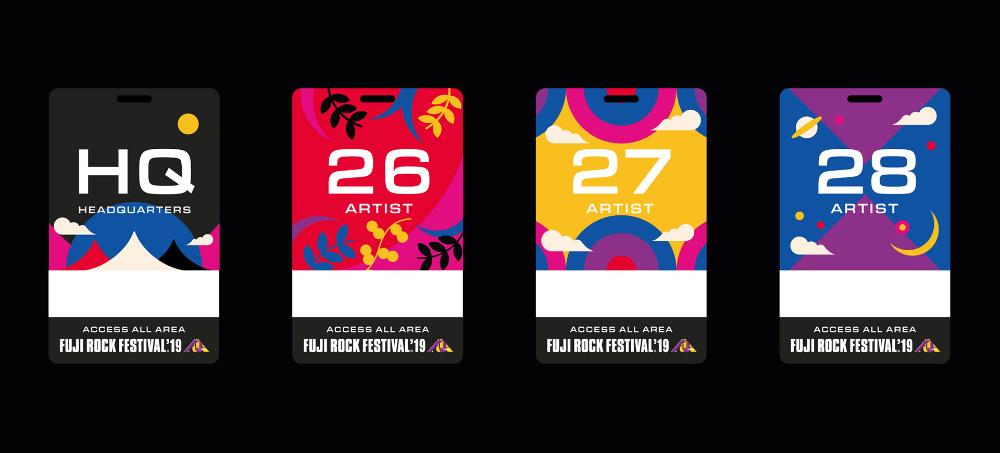 FUJI ROCK FESTIVAL 2019 on Behance in 2020 Rock