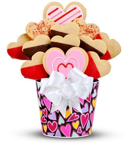 Lion Shopping Mall - Valentine's Day Gourmet Cookie Bouquet