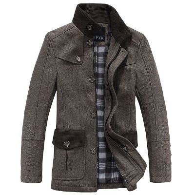 Brown Worsted Coat $ 37.44