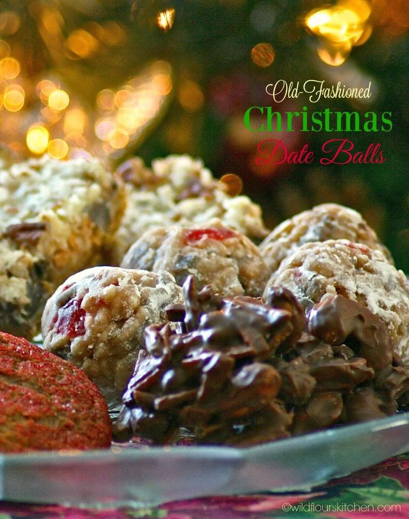 Old Fashioned Christmas Date Ball Cookies