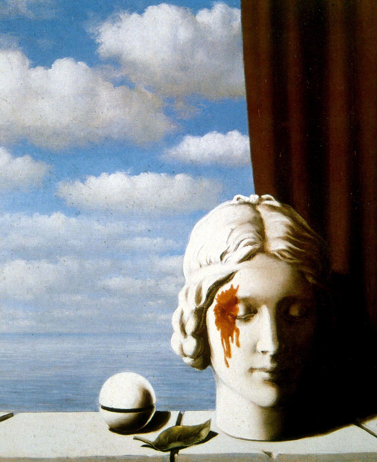 René Magritte, Erinnerung II   KUNST!   Pinterest