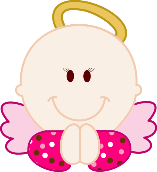 Dibujos de bebés para bautizo de niña - Imagui