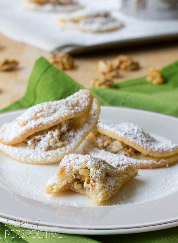 Quickie Kifli Cookies Recipe Hungarian Sweets Cookies, Sugar