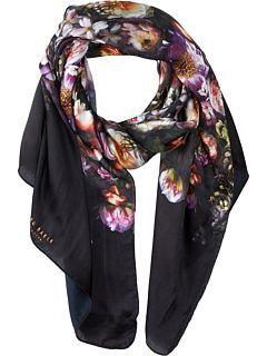 90bf7332c47c Ted Baker Patta Shadow Floral Long Scarves