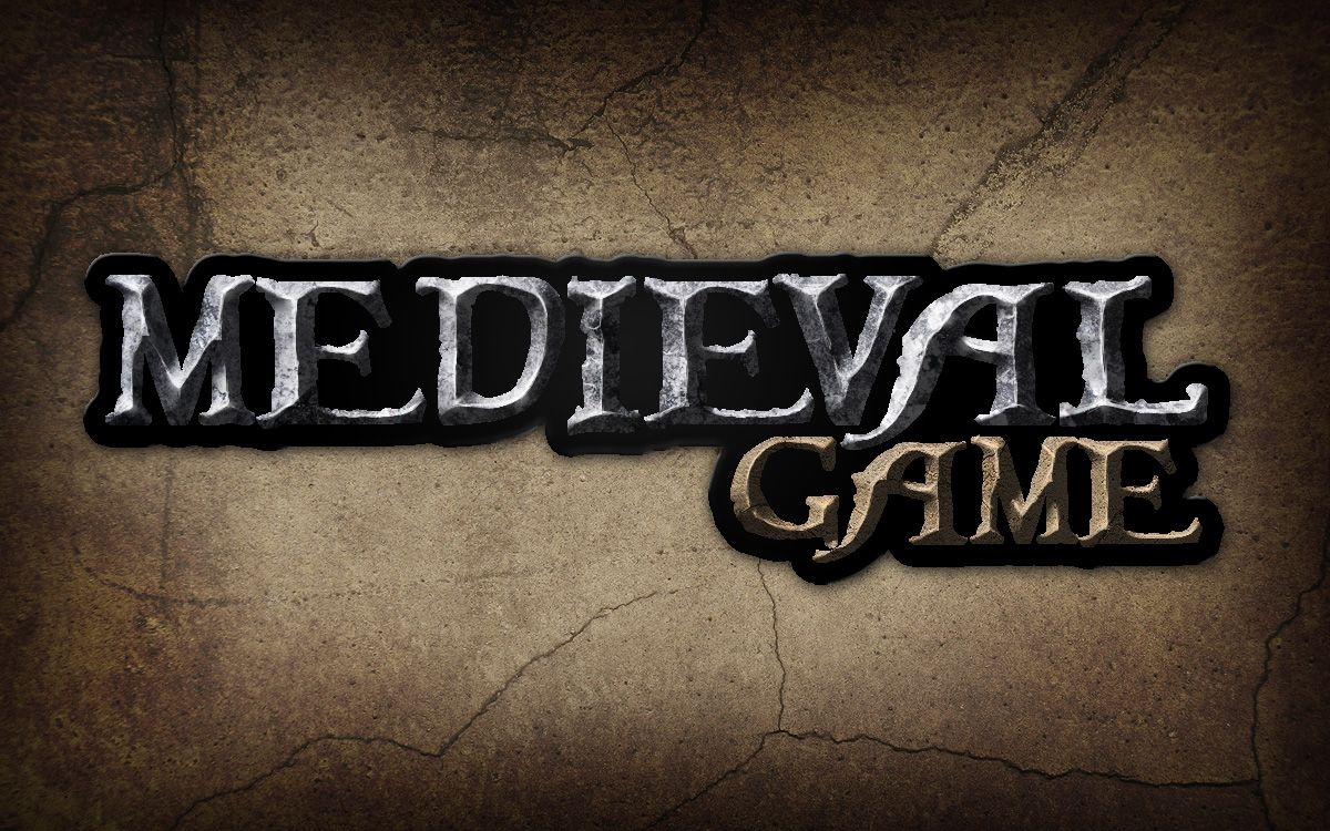 Give a medieval game logo a rough stone look text effects give a medieval game logo a rough stone look envato tuts design illustration tutorial baditri Images