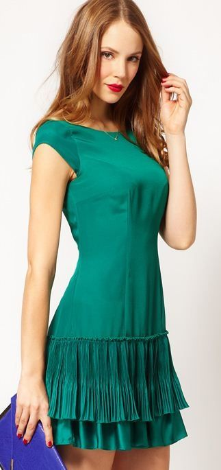 emerald party dress! #2013coloroftheyear #EmeraldGreen @Lola M M M M McGinnis