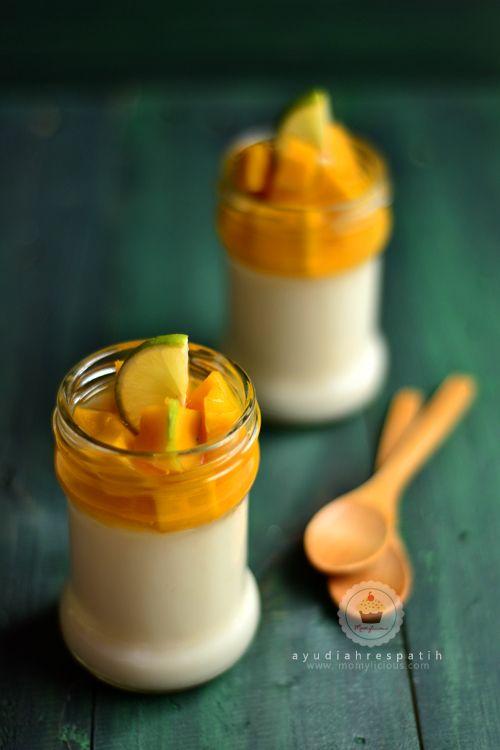 Momylicious Puding Sutra Mangga Puding Mangga Resep Makanan Penutup Makanan