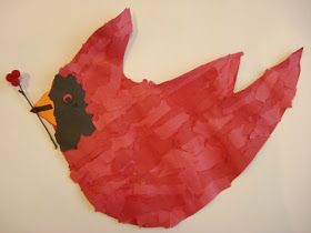I love cardinals- we don't have them where I live, but I think they're such a pretty winter bird and I do quite a few art lessons using...