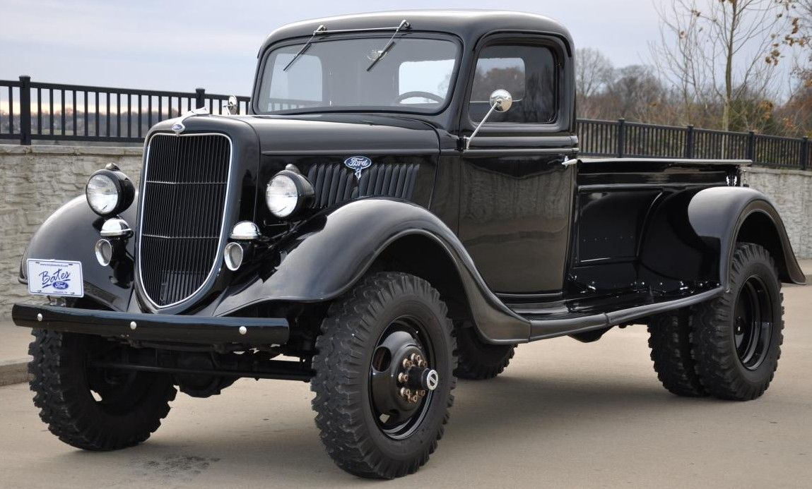 The History of Early American Pickups Ford pickup trucks