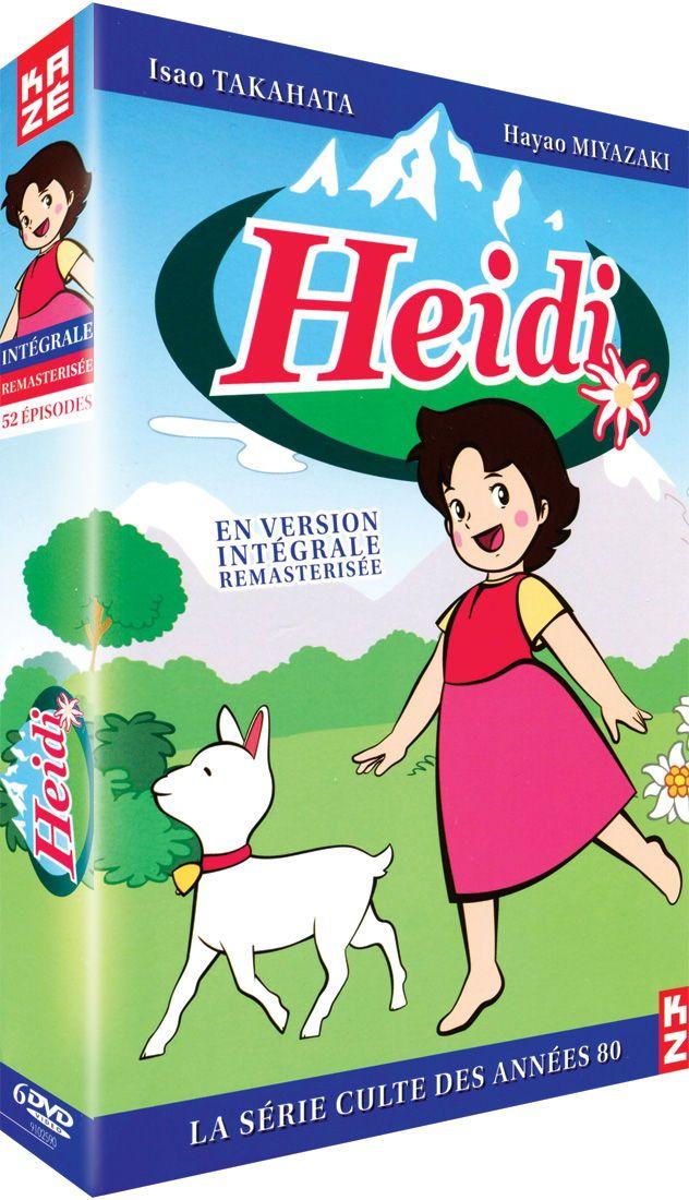 Heidi int grale version remast ris e 6 dvd dessins anim s d 39 enfance 80 90 enfance - Haidi dessin anime ...