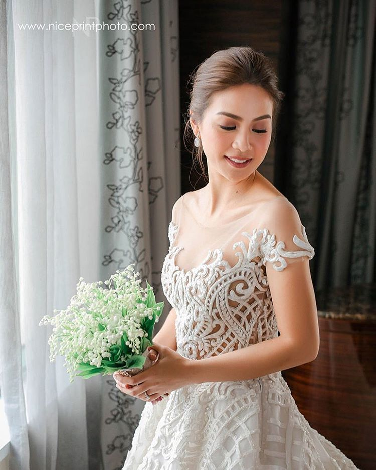 Kaye Abad Wore A Gorgeous Francis Libiran Gown To Her Wedding ...
