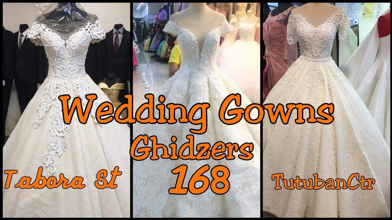 Divisoria 168 Tutuban Center And Tabora St Wedding Gown Gaun Pengantin Gaun Pengantin Brokat Gaun Perkawinan