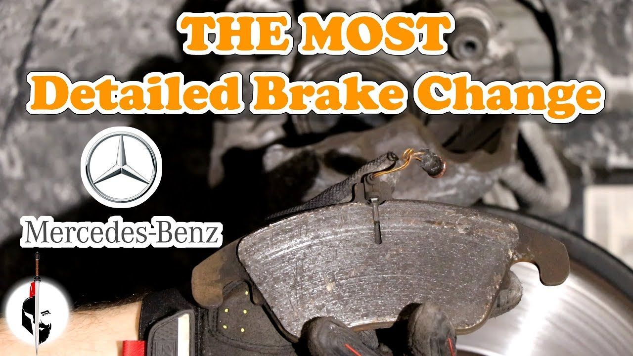 Detailed Brake Replacement And Fluid Flush On Mercedes Benz E350 W212 Mercedes Benz E350 Brake Replacement Mercedes Benz