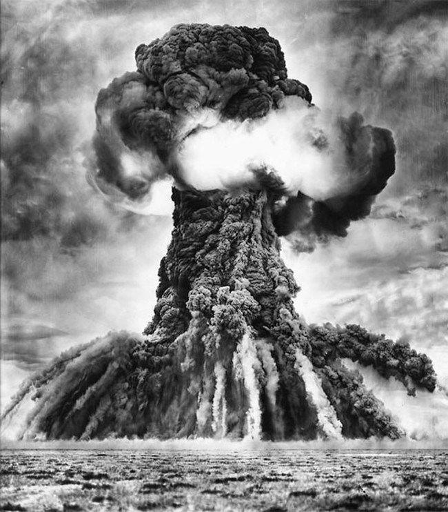 ядерный гриб хиросима