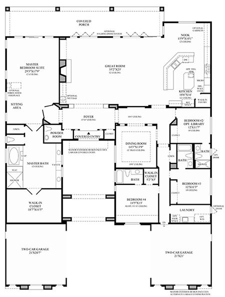 Exellent Toll Brothers Floor Plans Houses Flooring Picture Ideas ...